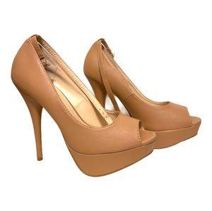 ✨ 3 for $20 bundle sale Beige/Tan heels